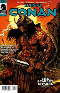 King Conan: The Scarlet Citadel #4 VF/NM; Dark Horse | save on shipping - detail