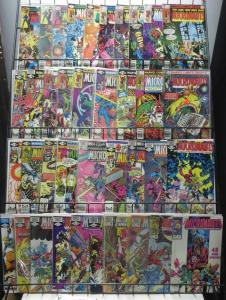 MICRONAUTS COLLECTION! 39 ISSUES! (Marvel, 1979) Mantlo! Golden! Gil Kane!Guice!