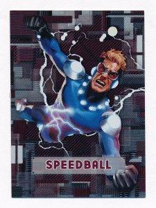Upper Deck 2012 Marvel Beginnings III Micromotion Card #44 Speedball NM/MT