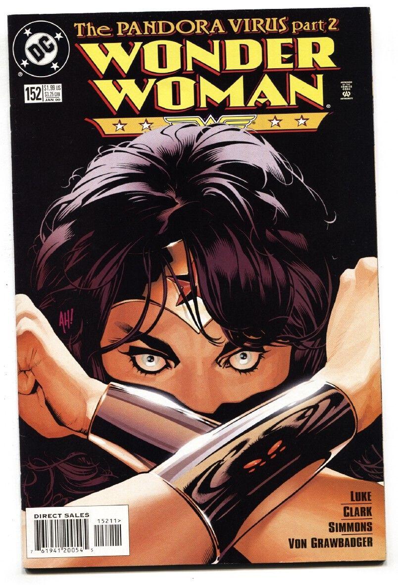 Wonder Woman 152 Dc Comic Book Adam Hughes Cover Art Nm Hipcomic