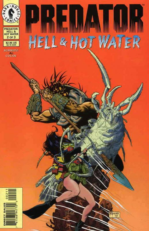 Predator: Hell & Hot Water #2 FN; Dark Horse | save on shipping - details inside