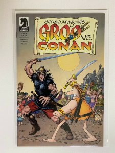 Groo Vs. Conan Dark Horse Comics #1 8.0 VF (2014)