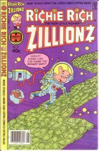 RICHIE RICH ZILLIONZ (1976-1982) 21 VF-NM May 1980 COMICS BOOK