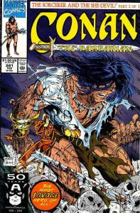Conan the Barbarian #241 VF/NM; Marvel | save on shipping - details inside