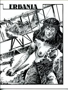 Erbania #67 1993 -Edgar Rice Burroughs-Tarzan-Jim Cawthorn-info-pix- VG