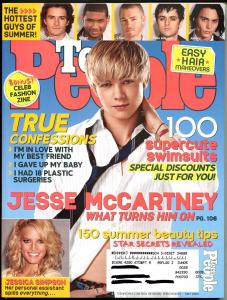 Teen People 5/2005-Jesse McCartney-Jessica Simpson-True Confessions-FN/VF
