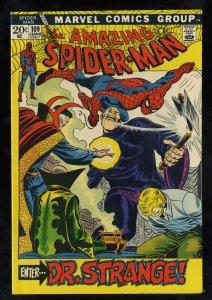 Amazing Spider-Man #109 VF 8.0 Doctor Strange!