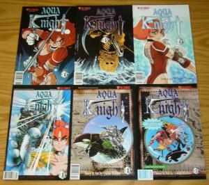 Aqua Knight #1-6 VF/NM complete series - viz manga - yukito kishiro 2 3 4 5 set