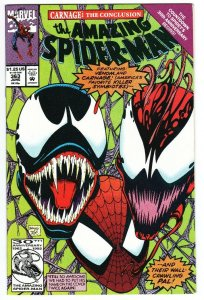 AMAZING SPIDER-MAN #363-Venom and Carnage cover Marvel - NM-