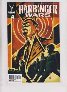 Harbinger Wars #4 VF/NM juan doe variant 1:20 - last issue - valiant comics