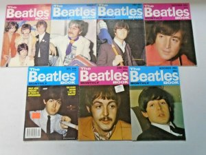 Beatles Book Monthly Magazine Lot 7 Different (1982-1983,1999)