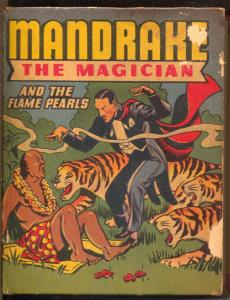 Mandrake The Magician and The Flame Pearls #1418 1946-Whitman-VG-