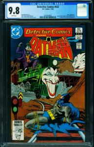 DETECTIVE #532 CGC 9.8 JOKER COVER-BATMAN 2019322002