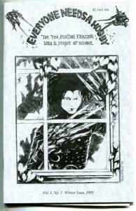 Tim Burton Fanzine EVERYONE NEEDS a HOBBY #3 ashcan size, NM-, ScissorHands,1995