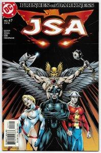 JSA #47 Hawkman | Power Girl | Flash (DC, 2003) VF