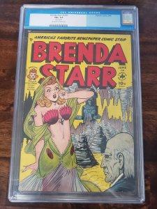 Brenda Starr 3 CGC 6.5 (Rusted Staples)