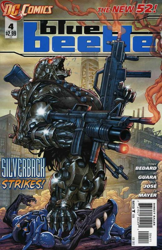Blue Beetle (5th Series) #4 VF/NM; DC | save on shipping - details inside