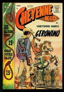 Cheyenne Kid #11 1958-Geronimo- Giant issue- Williamson- VG+