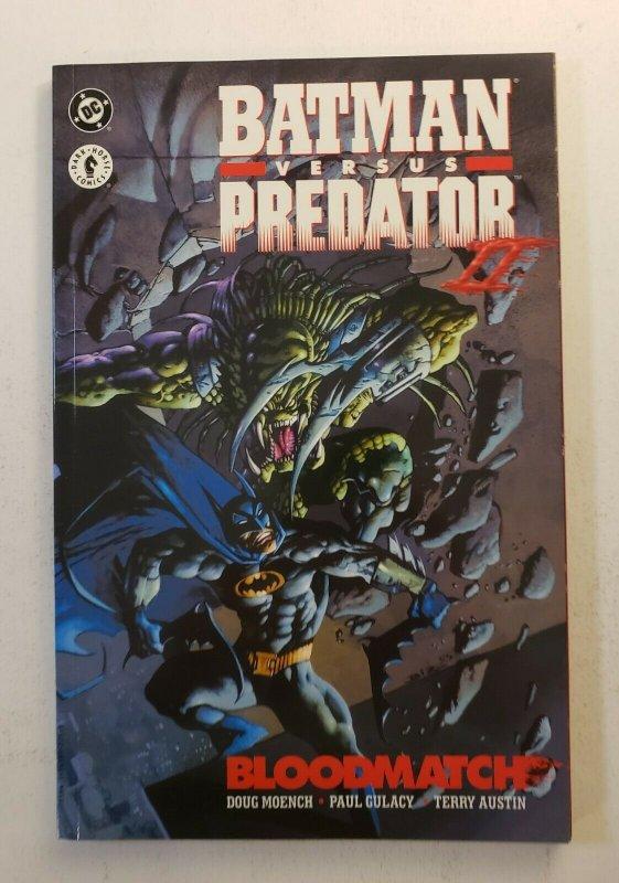 Batman vs Predator II Bloodmatch TPB Graphic Novel - 1st Print - Near Mint NM!