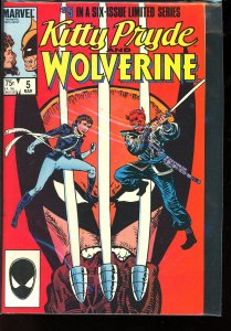 Kitty Pryde and Wolverine #5 (1985)