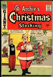 Archie Giant Series #5 1958-MLJ-Betty-Veronica-Archie's Christmas Stocking-VG