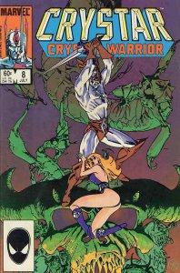Saga of Crystar, The Crystal Warrior #8 VG; Marvel | low grade comic - save on s