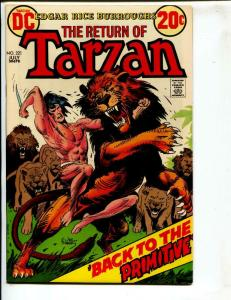 Tarzan-#221-1973-DC-BRONZE-AGE-Joe Kubert-NM-
