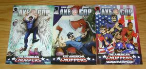 Axe Cop: the American Choppers #1-3 VF/NM complete series dark horse comics 2