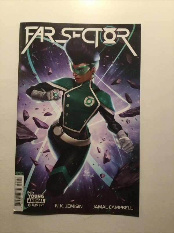 Far Sector 8 Near Mint Variant Nm Dc Young Animals