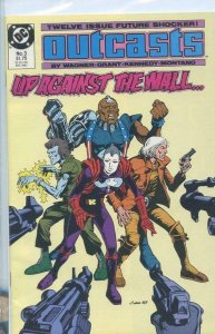 OUTCASTS #3, NM-, Wagner, Grant, DC, 1987 more DC in store
