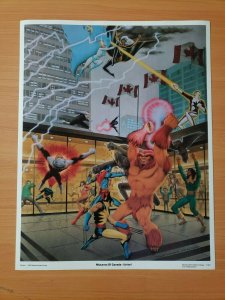 1983 Mutants Of Canada - Unite! 11X14 Art Print, X-Men, Wolverine, Alpha Flight!