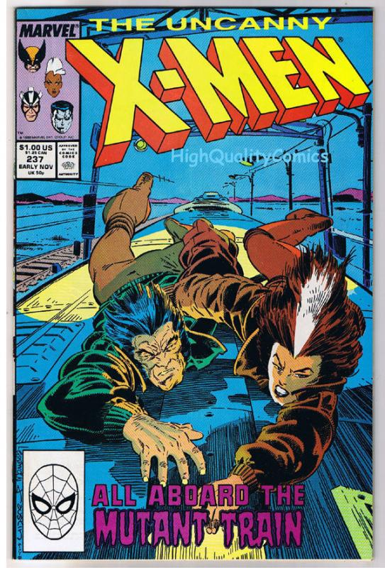 X-MEN #237, VF/NM, Wolverine, Chris Claremont, Uncanny, more in store