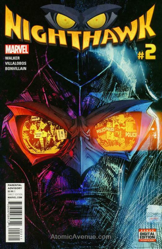 Nighthawk (2nd Series) #2 VF/NM; Marvel | save on shipping - details inside