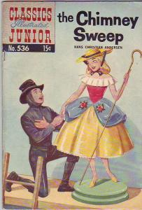 Classics Illustrated Junior #536 (Mar-57) FN+ Mid-Grade The Chimney Sweep