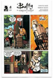 BTVS Buffy The Vampire Slayer #8 Variant Cvr (Dark Horse, 2017) NM