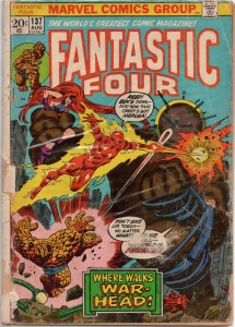 Fantastic Four #137; FR (Medievel Castle? Warhead? Thomas Gideon?! Yup!))