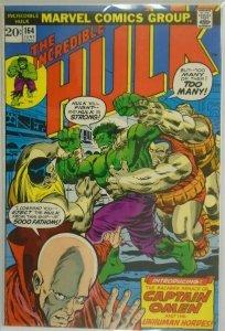 The Incredible Hulk #164 - 5.0 VG/FN - 1973