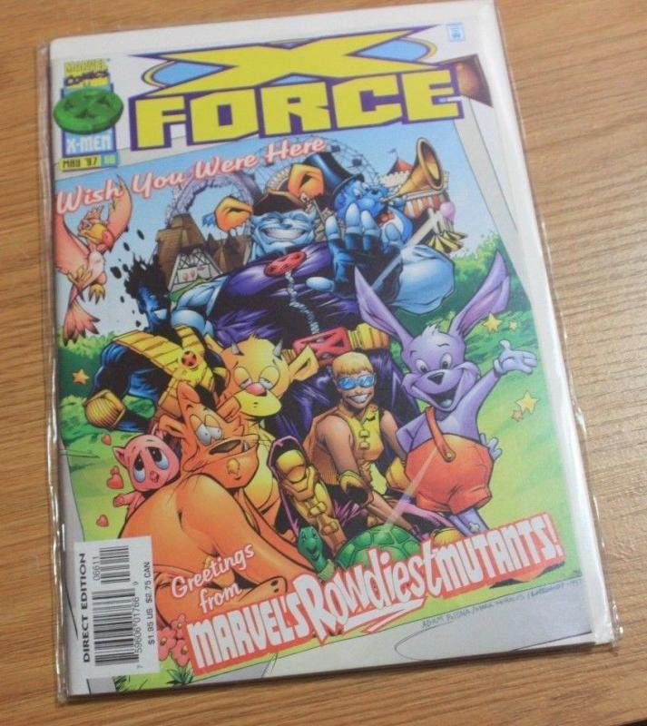 X-Force # 66 (May 1997, Marvel)  MUTANTS