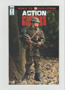 Action Man #1 NM- (2016, IDW Comics) Toy Photo Cover Variant!