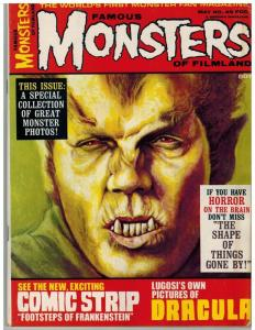 FAMOUS MONSTERS OF FILMLAND 49 FN May 1968