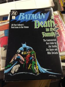 Batman A death in the family 3rd printing TPB