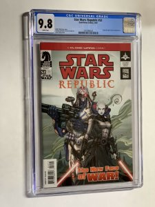 Star Wars Republic 52 cgc 9.8 wp Dark horse