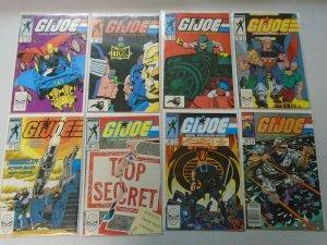 High # GI Joe comic lot 16 different from #87-138 average 7.0 (1989-93)