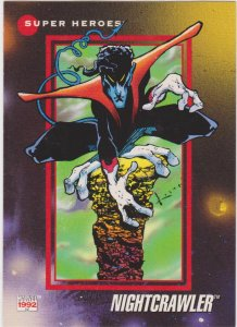 1992 Marvel Universe #22 Nightcrawler