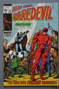 Daredevil   & Nighthawk #62 VG/Better