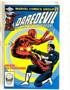 Daredevil # 183 NM Marvel Comic Book Frank Miller Elektra Bullseye Hand HJ9