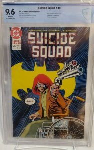 Suicide Squad #49 - CBCS 9.6 - White Pages - Norm Breyfogle - Oracle cover!!