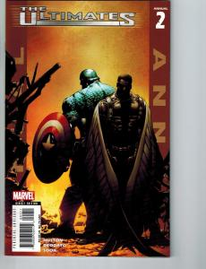 The Ultimates # 2 NM ANNUAL Marvel Comic Book Avengers Iron Man Spider-Man S82