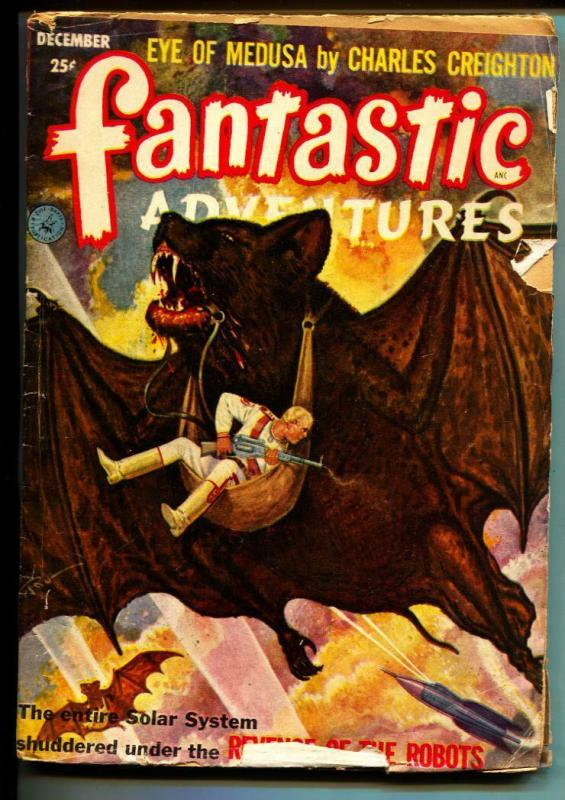 Fantastic Adventures-Pulp-12/1952-Charles Creighton-Milton Lesser