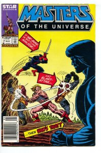 Masters of the Universe #7 1986  late issue-Marvel